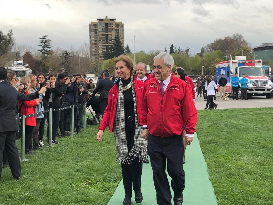 Presidente Piñera y Ministra Hutt lanzan medidas para evitar accidentes durante Fiestas Patrias